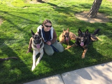 Roxy and her boys