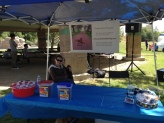 I was invited to participate in a Bark for Life event. It's was a nice experience and for a great cause.